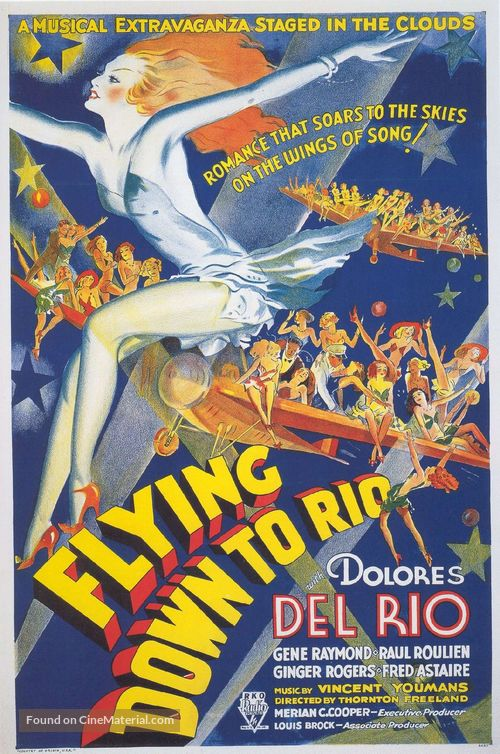 Flying Down to Rio - Movie Poster