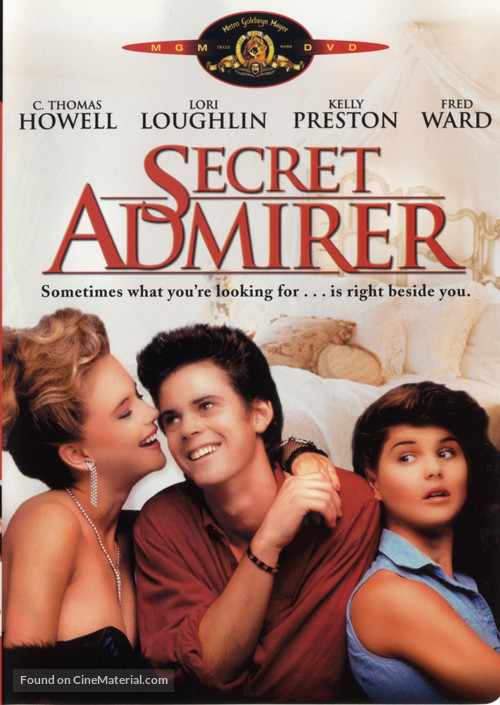 Secret Admirer - DVD movie cover