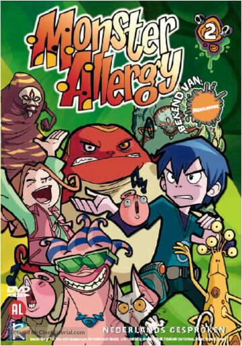 """Monster Allergy"" - Dutch Movie Cover"