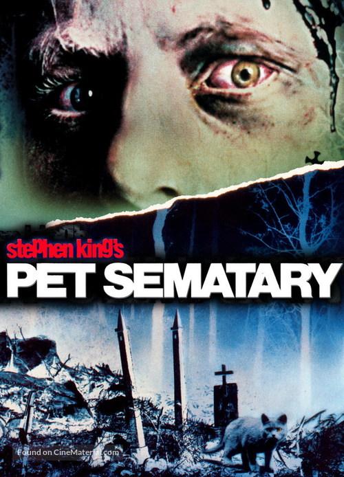 Pet Sematary - DVD movie cover