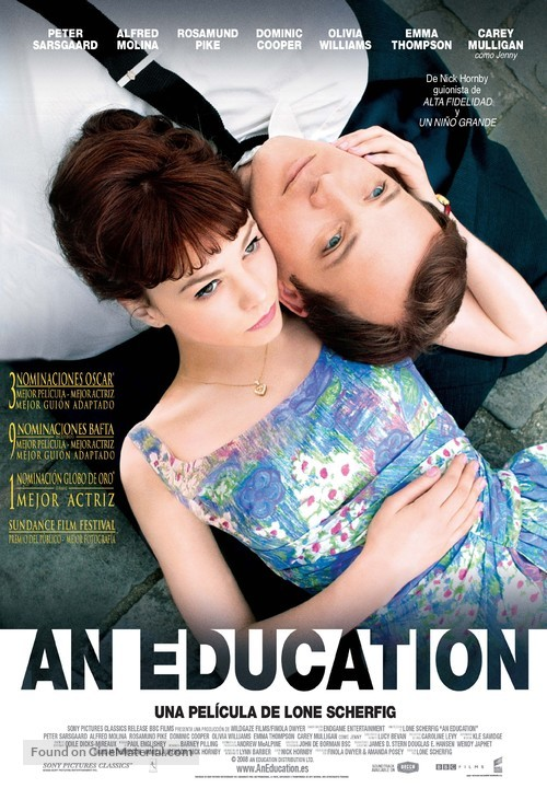 An Education - Spanish Movie Poster