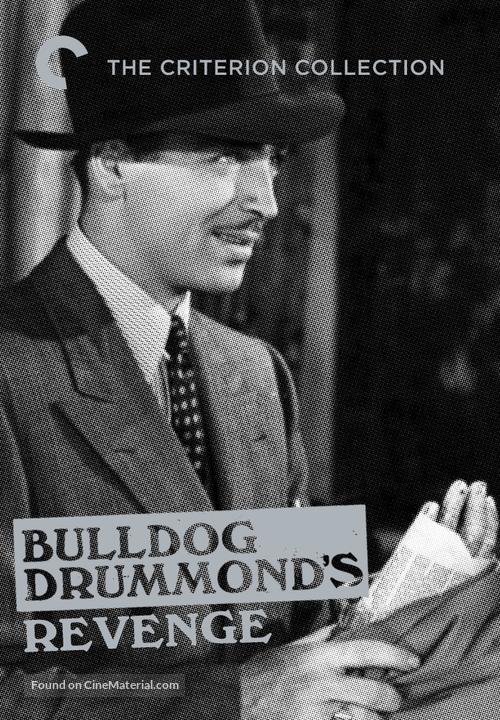 Bulldog Drummond's Revenge - DVD movie cover