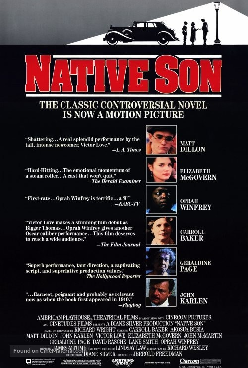 the controversy surrounding richard wrights novel native son