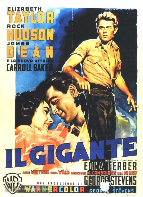 Giant - Italian Movie Poster