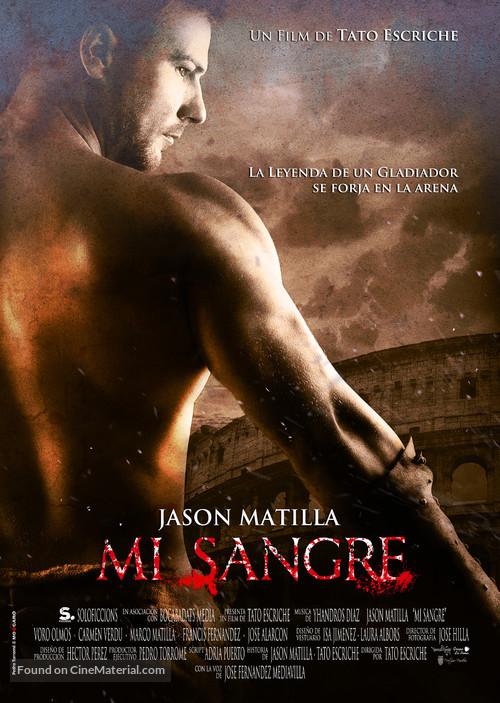 Mi Sangre - Spanish Movie Poster