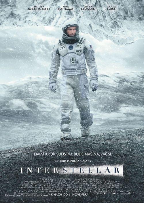 Interstellar - Slovak Movie Poster