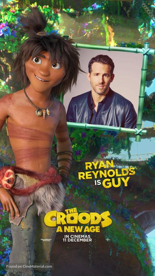 The Croods: A New Age - South African Movie Poster