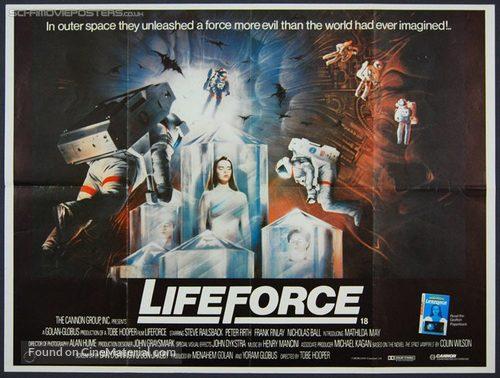 Lifeforce - British Movie Poster