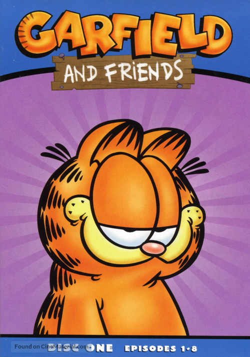 quotgarfield and friendsquot dvd cover