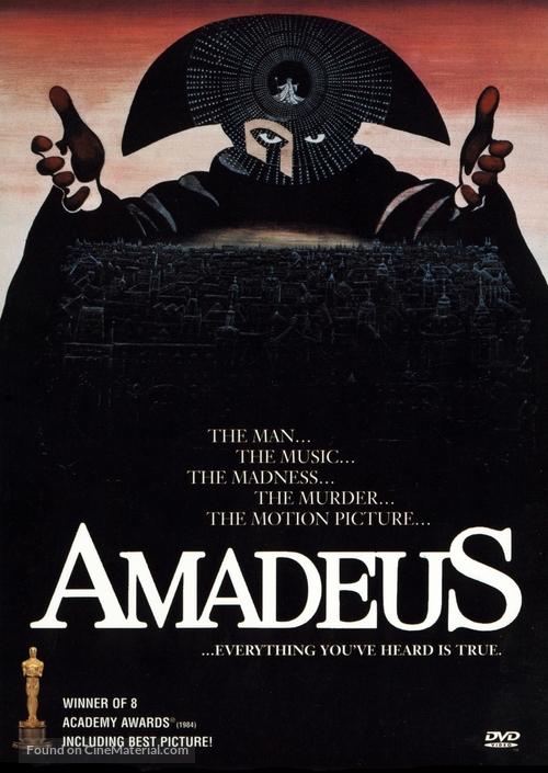Amadeus - Movie Cover