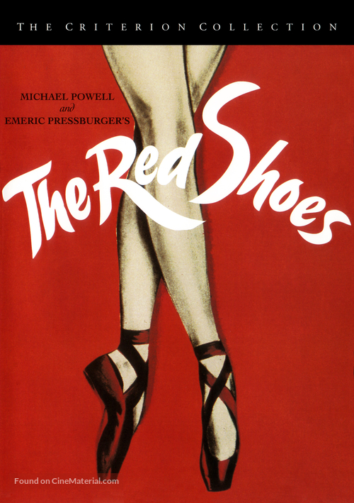The Red Shoes - DVD movie cover