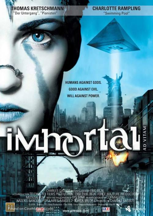 Immortel (ad vitam) - British poster