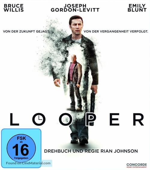 Looper - German Blu-Ray movie cover