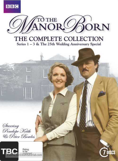 """""""To the Manor Born"""" - New Zealand DVD movie cover"""