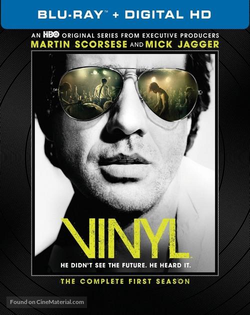 """Vinyl"" - Blu-Ray movie cover"