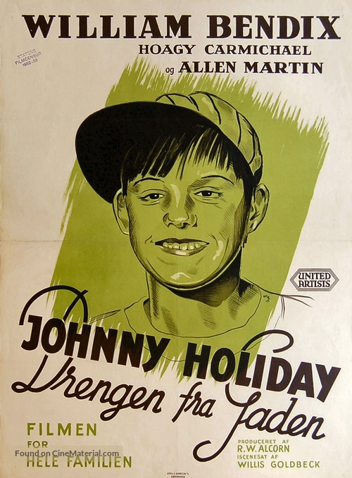 Johnny Holiday - Danish Movie Poster