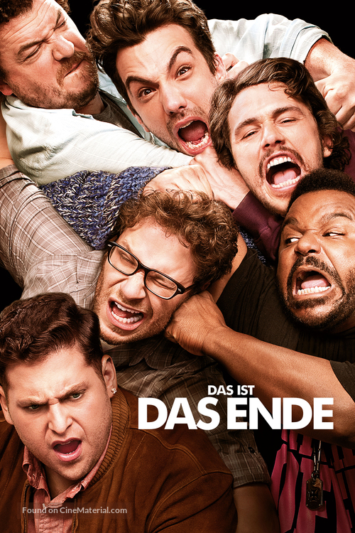This Is the End - German Movie Poster