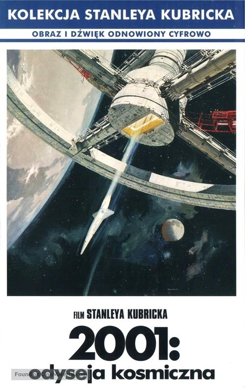 2001: A Space Odyssey - Polish Movie Cover