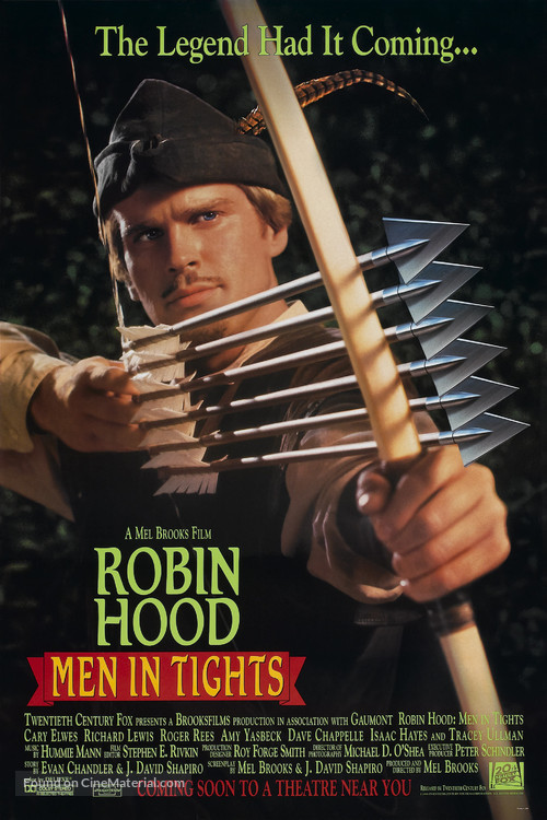 Robin Hood: Men in Tights - Advance poster