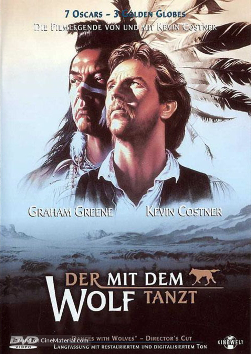 Dances with Wolves - German Movie Cover