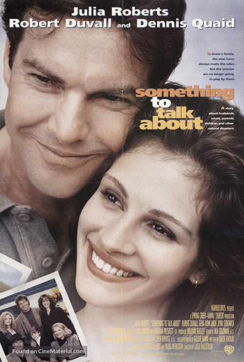 Something To Talk About - Movie Poster
