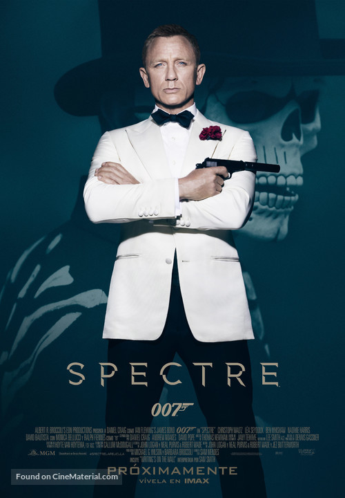 Spectre - Argentinian Movie Poster