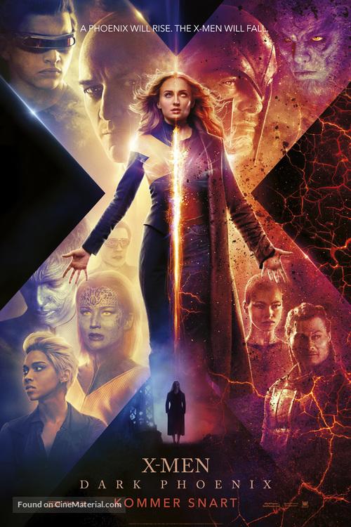 Dark Phoenix - Danish Movie Poster