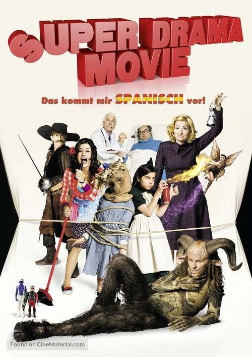 Spanish Movie - German DVD movie cover