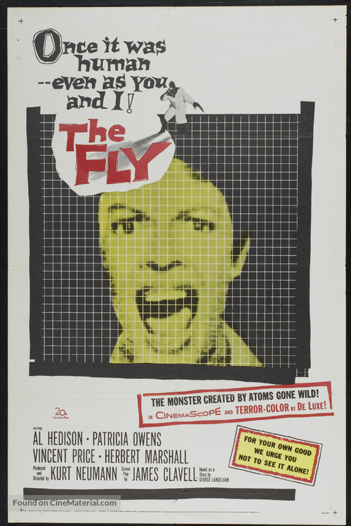 The Fly - Movie Poster