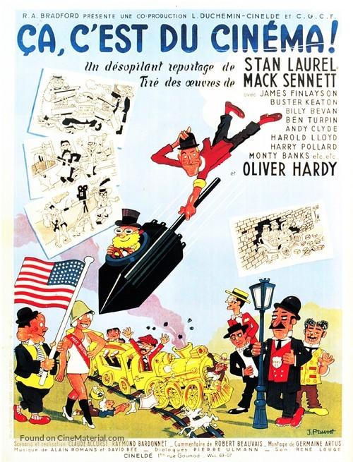 Ça c'est du cinéma - French Movie Poster