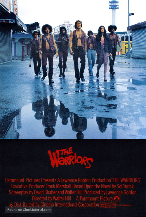 The Warriors - British Movie Poster