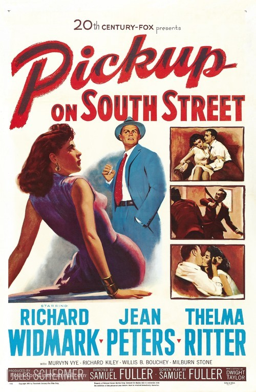 Pickup on South Street - Movie Poster