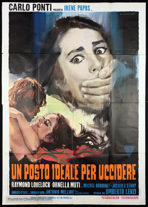 Un posto ideale per uccidere - Italian Movie Poster