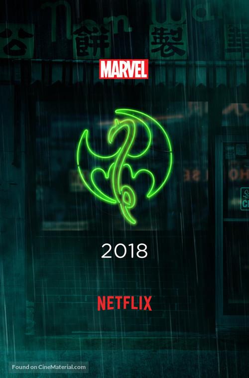 """Iron Fist"" - Movie Poster"