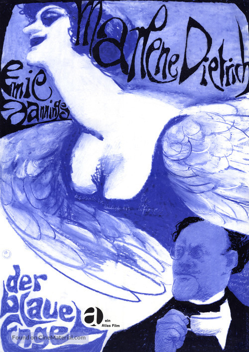 Der blaue Engel - German Movie Poster