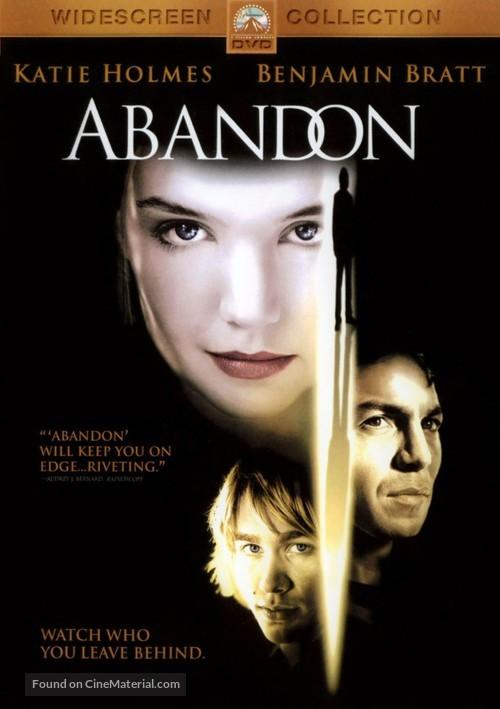 Abandon - DVD movie cover