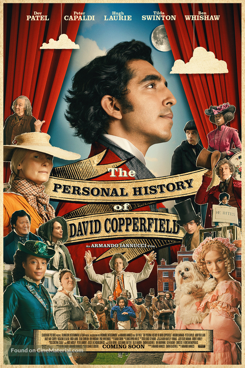 The Personal History of David Copperfield - Movie Poster