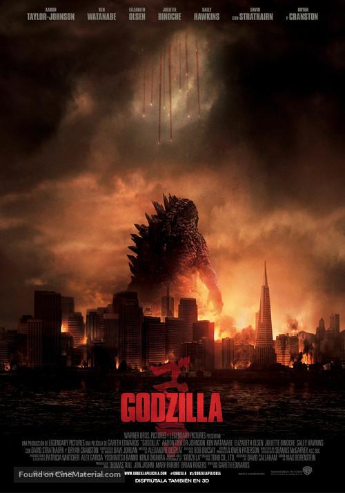 Godzilla - Spanish Movie Poster