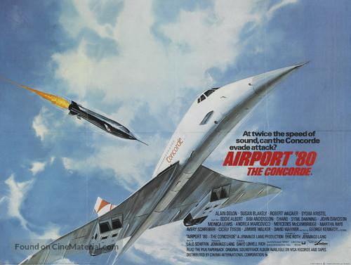 The Concorde: Airport '79 - British Movie Poster