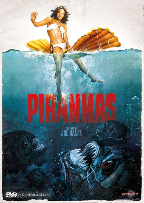 Piranha - French DVD movie cover