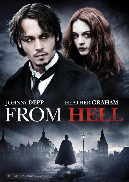 From Hell - DVD movie cover