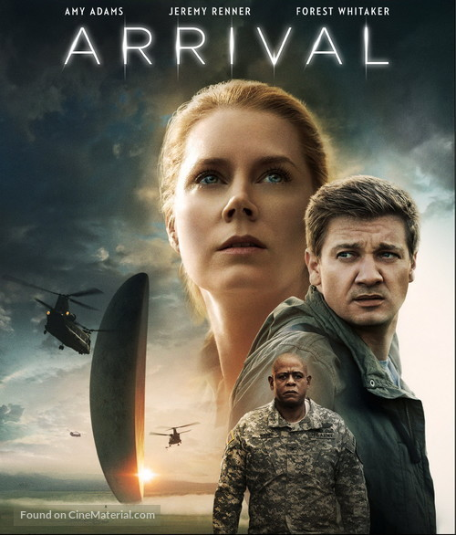 Arrival - Blu-Ray movie cover