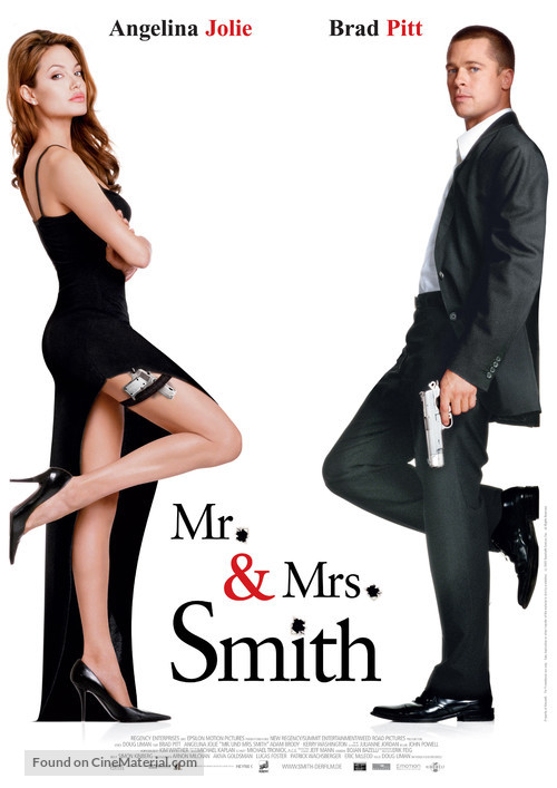 Mr. & Mrs. Smith - German Theatrical movie poster