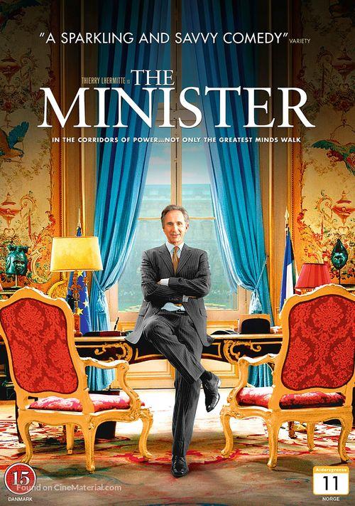 Quai d'Orsay - Danish DVD movie cover