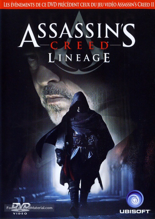 Assassin S Creed Lineage 2009 French Dvd Movie Cover