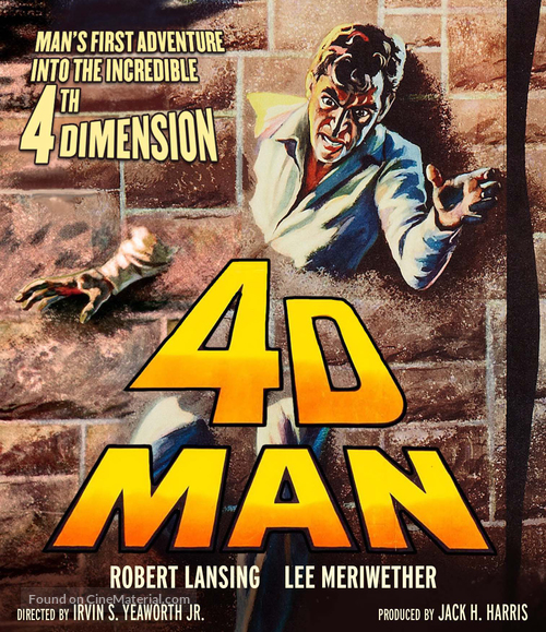 4D Man - Blu-Ray movie cover