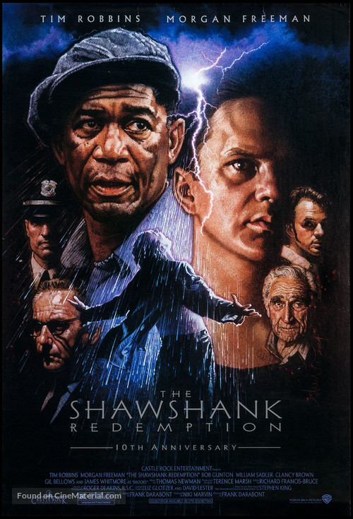The Shawshank Redemption - Re-release movie poster
