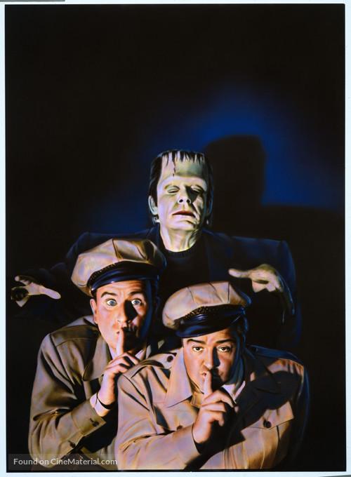 Bud Abbott Lou Costello Meet Frankenstein - Key art