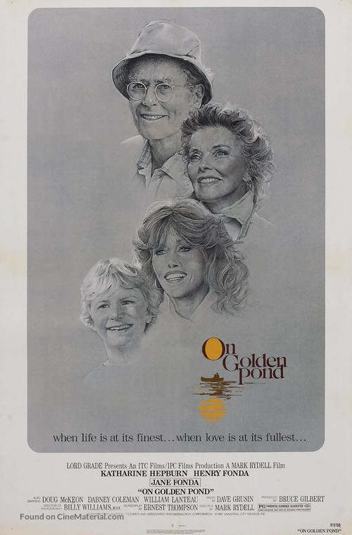 On Golden Pond - Movie Poster