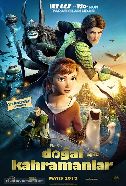 Epic - Turkish Movie Poster
